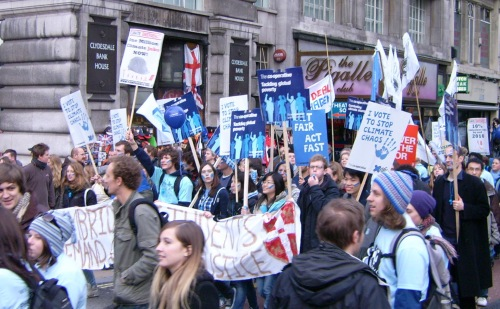 Climate Change Demo 2009